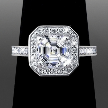 Radiant Cut Diamond Ring