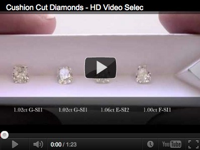 Cushion Cut Diamond Selection - Vanessa Nicole Jewels - Engagement Rings