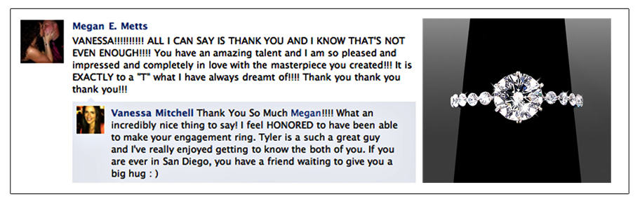 Facebook Review - Megan Metts - Clients Out of Town