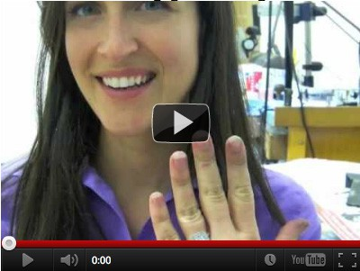 How to make a custom engagement ring - Vanessa Nicole Jewels
