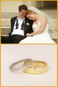 Newly Weds Showing Their Rings' Style | Antique Engagement Rings