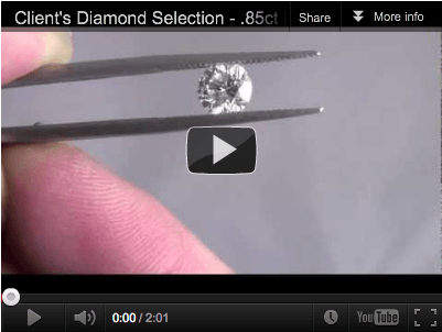 Round Cut Diamond Selection - Vanessa Nicole Jewels - Engagement Rings