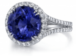 Check out our custom Sapphire engagement ring! - custom design engagement rings