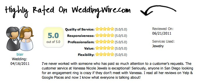 WeddingWire.com review - Wedding Rings