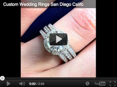custom wedding rings san diego Vanessa Nicole Jewels Videos