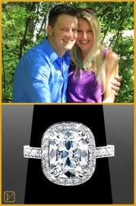 Dan & Colbi - Vanessa Nicole Jewels Diamond Rings for Sale