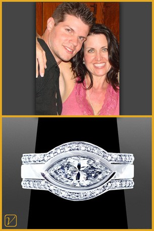 Josh & Dana - Client Review - Vanessa Nicole Jewels