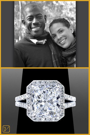 Custom Engagement Ring | Vanessa Nicole Jewels