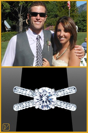 Landon & Nichole - Client Review - Vanessa Nicole Jewels