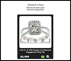 Scam Alert for Engagement Rings