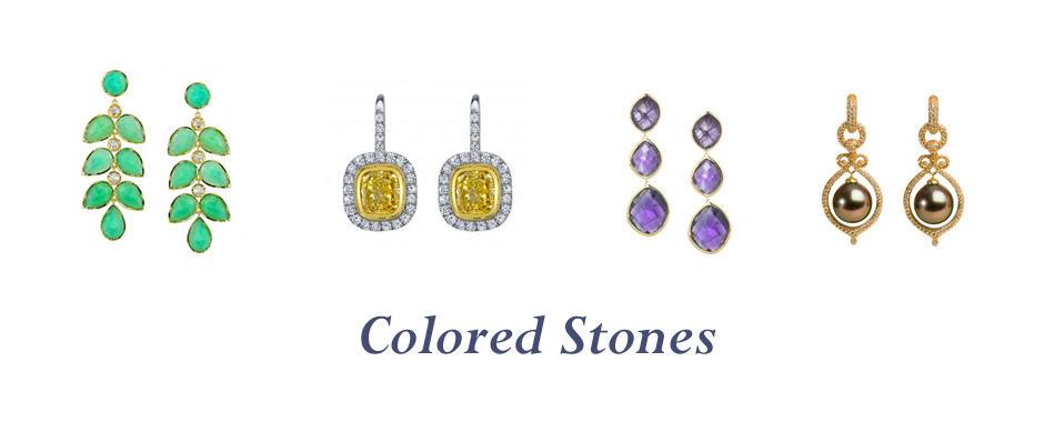 COLORED STONES - Vanessa Nicole Jewels - Jewelry Stores