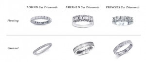 Diamond Cut Options for Wedding Rings