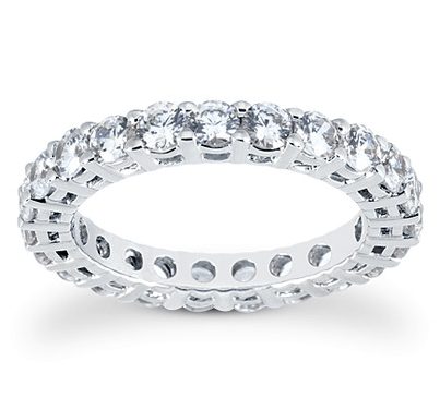 Eternity Wedding Ring - Diamond Rings