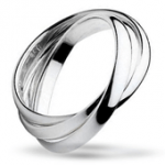 French Interlocking Rings - Wedding Bands