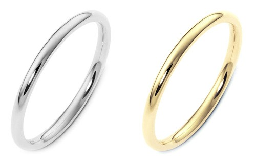 Thin Wedding Bands