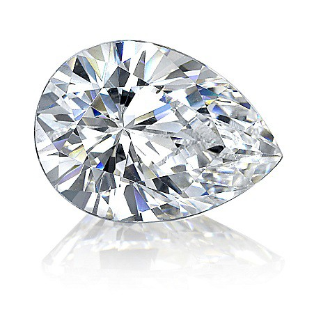 Pear Cut Diamond - Diamond Rings