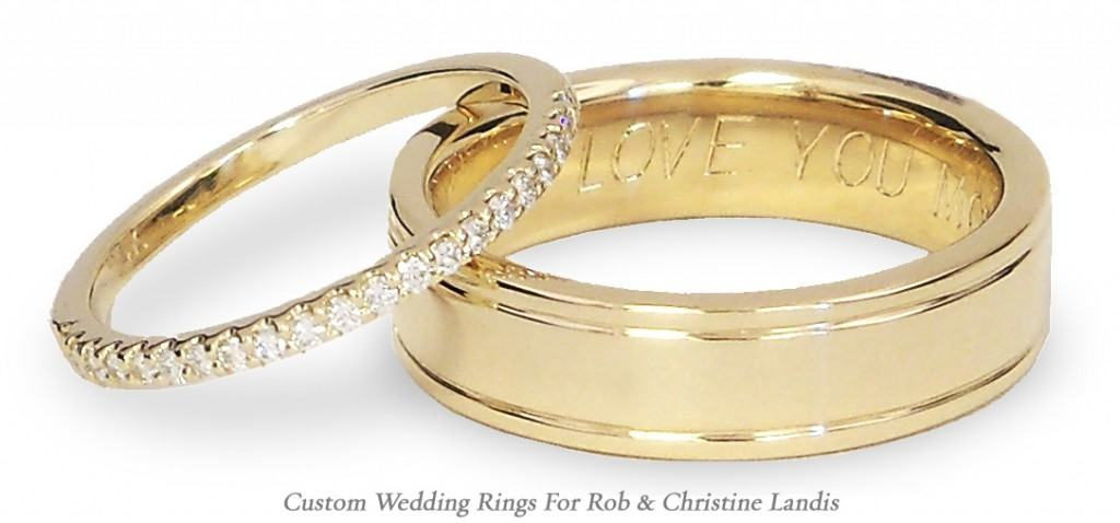 Christine & Rob Wedding Rings