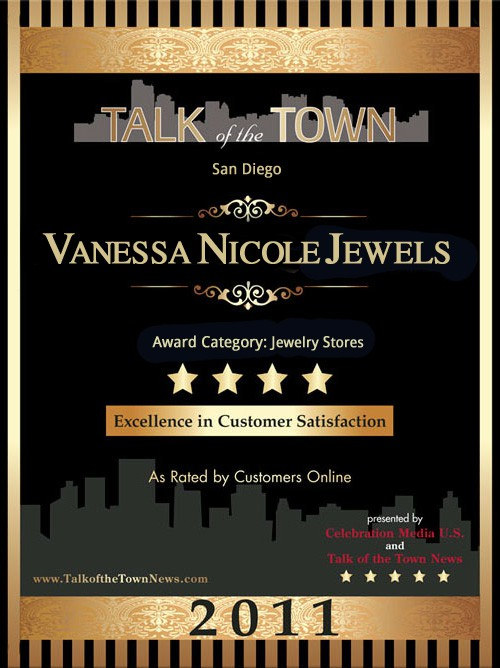 Talk Of The Town Award - Vanessa Nicole Jewels