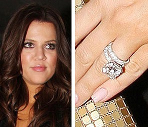 Khloe Kardashian Wedding Rings