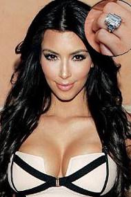 Kim Kardashian Wedding Rings - Vanessa Nicole Jewels