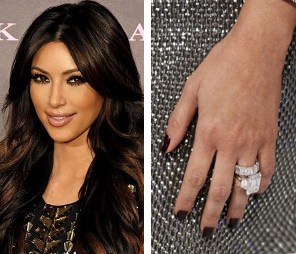 Kim Kardashian Wedding Rings