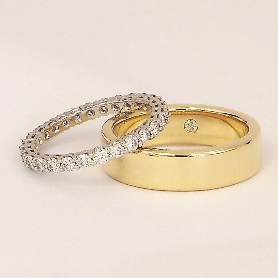 Lauren & Mike's Wedding Rings