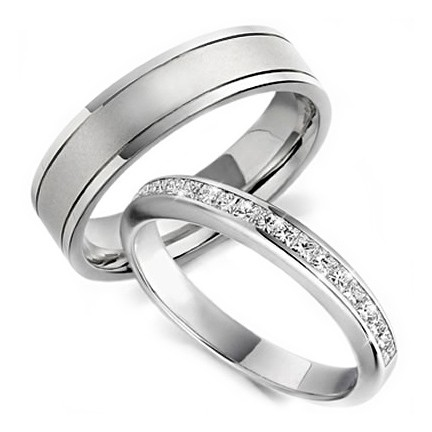Image Result For Curved Wedding Band To Fit En Ement Ring