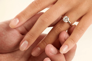 Engagement Rings - Ring On Hand