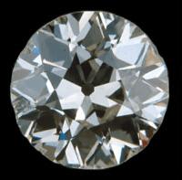 European Cut Diamond Antique Engagement Rings