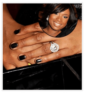 Jennifer Hudson  - Antique Engagement Rings