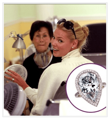 Katherine Heigl - Antique Engagement Rings