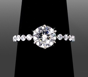 Custom Engagement Ring Design - Vanessa Nicole Jewels