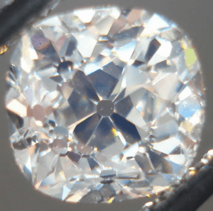 Old Mine Cut Diamond - Antique Engagement Rings