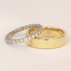 Wedding Rings Are Worn When Two People Exchange Vows as Husband and Wife