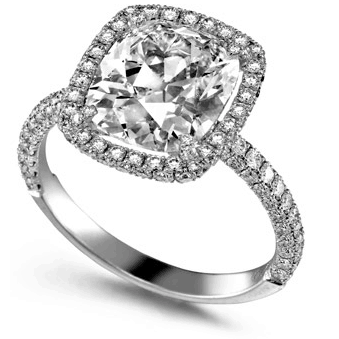 Ring At An Angle From One of The Best Jewelry Stores - diamond solitaire ring