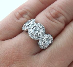 Antique Engagement Rings - Vanessa Nicole Jewels
