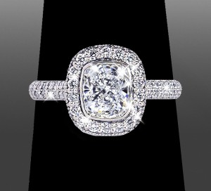 Breathtaking Custom Engagement Ring