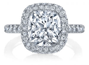 Cushion Cut Engagement Rings - Diamond Jewelry Stores