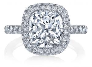Cushion Cut Engagement Rings - Vanessa Nicole Jewels