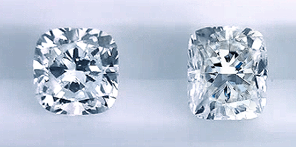 Cushion Cut Diamond Ring Comparison