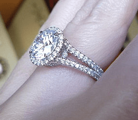 Micro Pavé Diamond Rings For Women