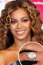 Beyonce - Celebrity Engagement Rings