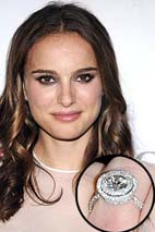 Natalie Portman - Celebrity Engagement Rings