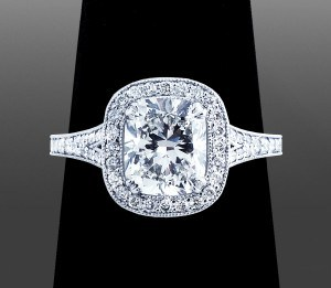 Cushion Cut Diamond - Vanessa Nicole - Diamond Shapes