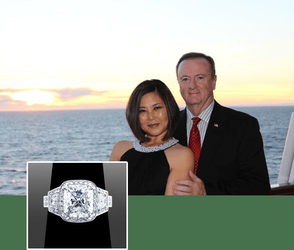 Happy Clients of Vanessa Nicole Jewels - Bryan & Myong