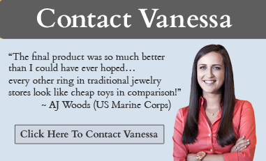 Contact Vanessa To Design Your Dream Ring! - Round Cut Engagement Rings