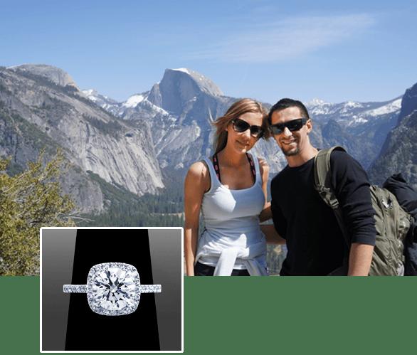 Happy Clients of Vanessa Nicole Jewels - Cody & Danielle
