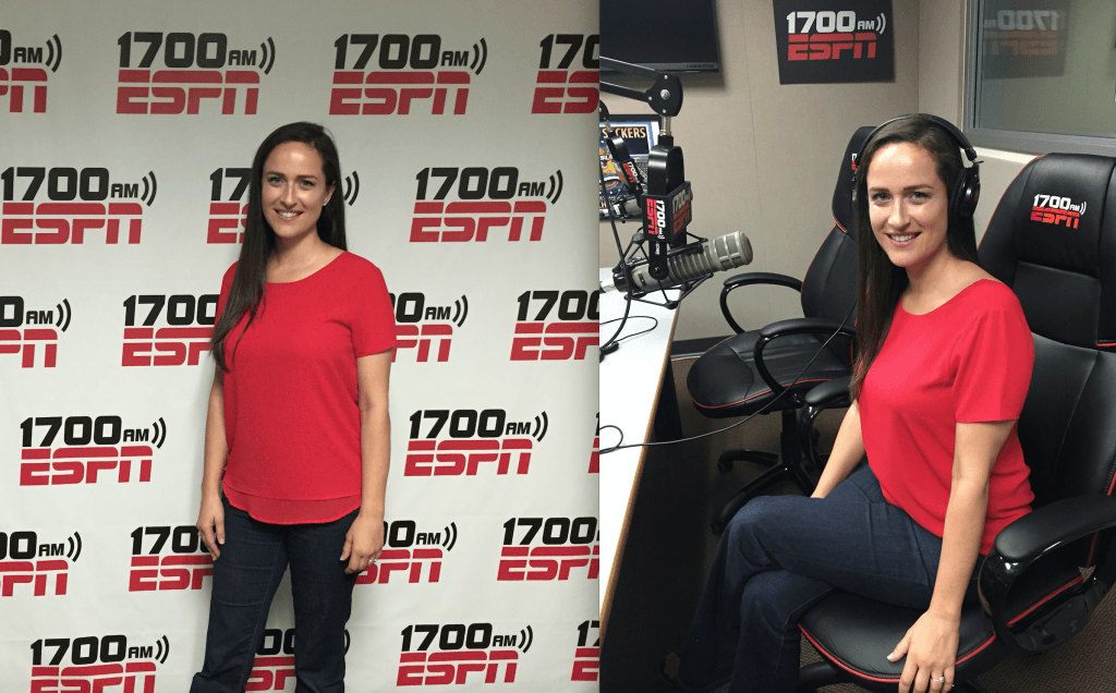 ESPN radio interview - Vanessa Nicole Jewels