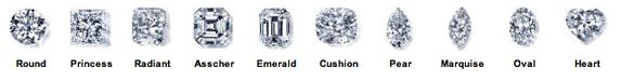 Diamond Shape Images - 4 Cs