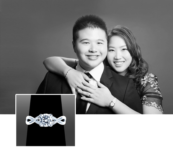 Happy Clients of Vanessa Nicole Jewels- Ken & Vivien
